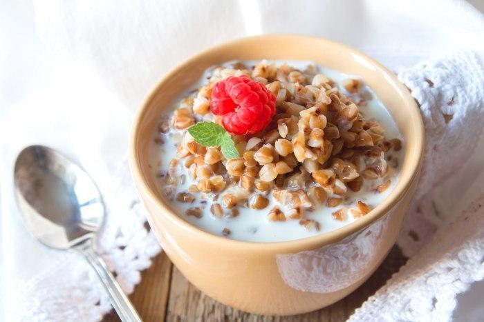Гречневая каша с молоком – вкусно и полезно