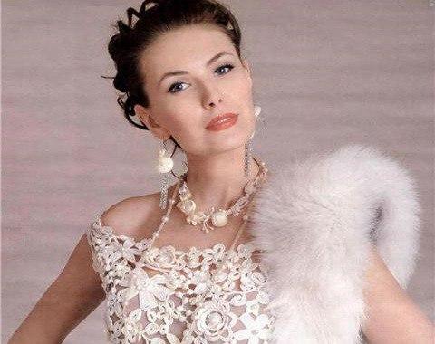 Ажурное платье: какие фасоны будут модными в этом году