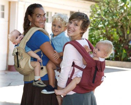 Слинг рюкзак – для деток постарше