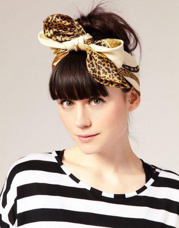 Как красиво завязать шарф, платок или палантин?