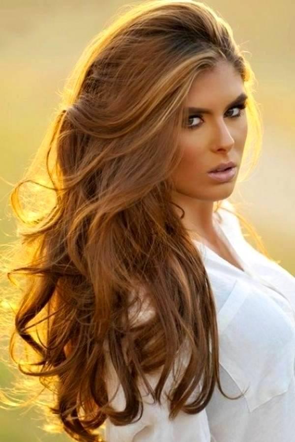 Секрет привлекательность орехового цвета волос