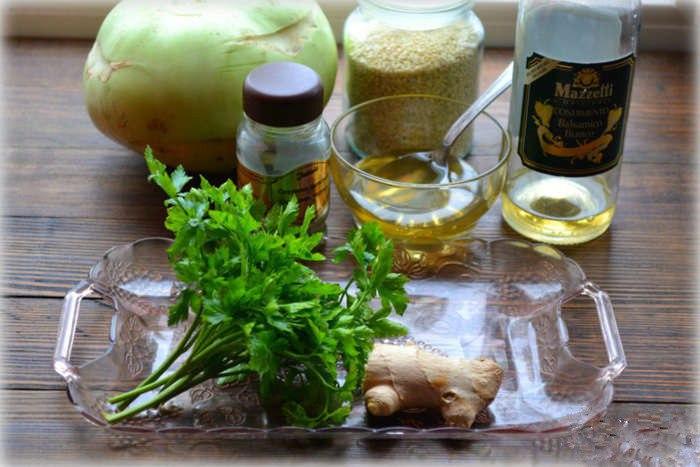 Салат из кольраби – вкусное и полезное блюдо на вашем столе