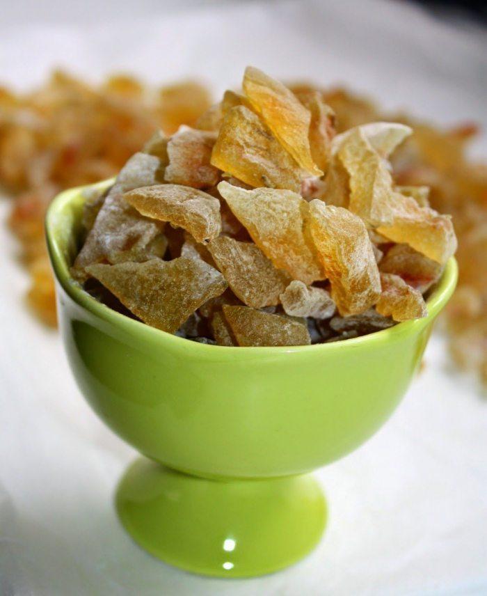 Рецепты приготовления цукатов из арбузных корок
