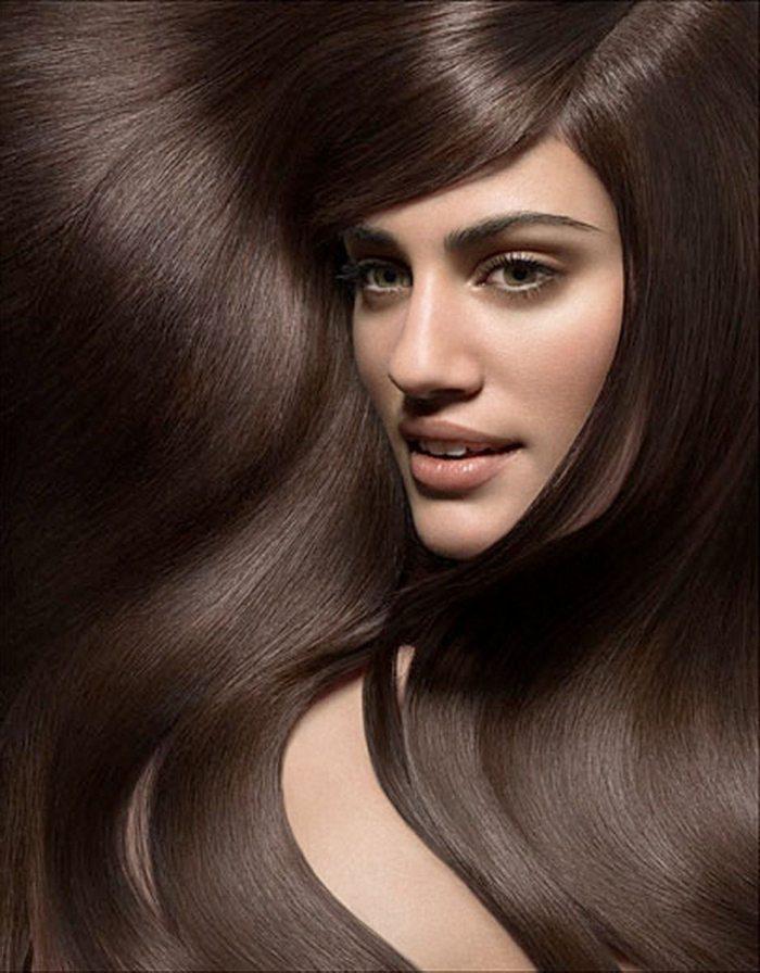 Краска для волос коричневого цвета