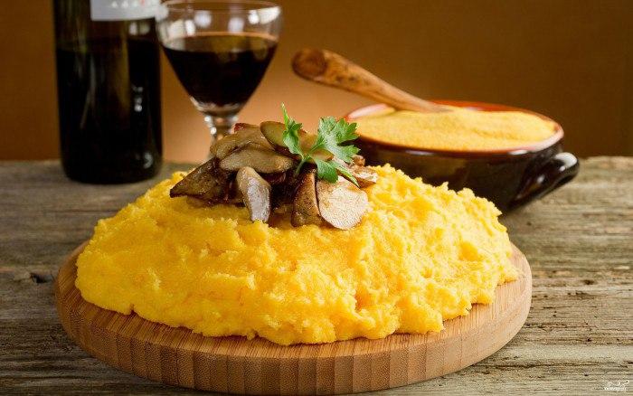 Рецепты мамалыги и поленты – разнообразим рацион кукурузными кашами!