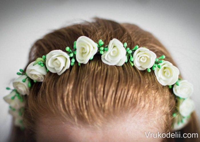 Обруч для волос — стильное и эффектное украшение