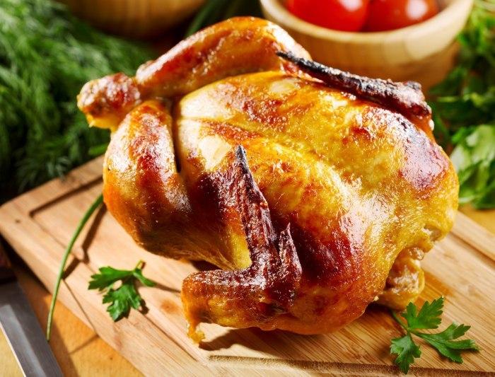 Простой и доступный способ приготовления курицы в банке в духовке