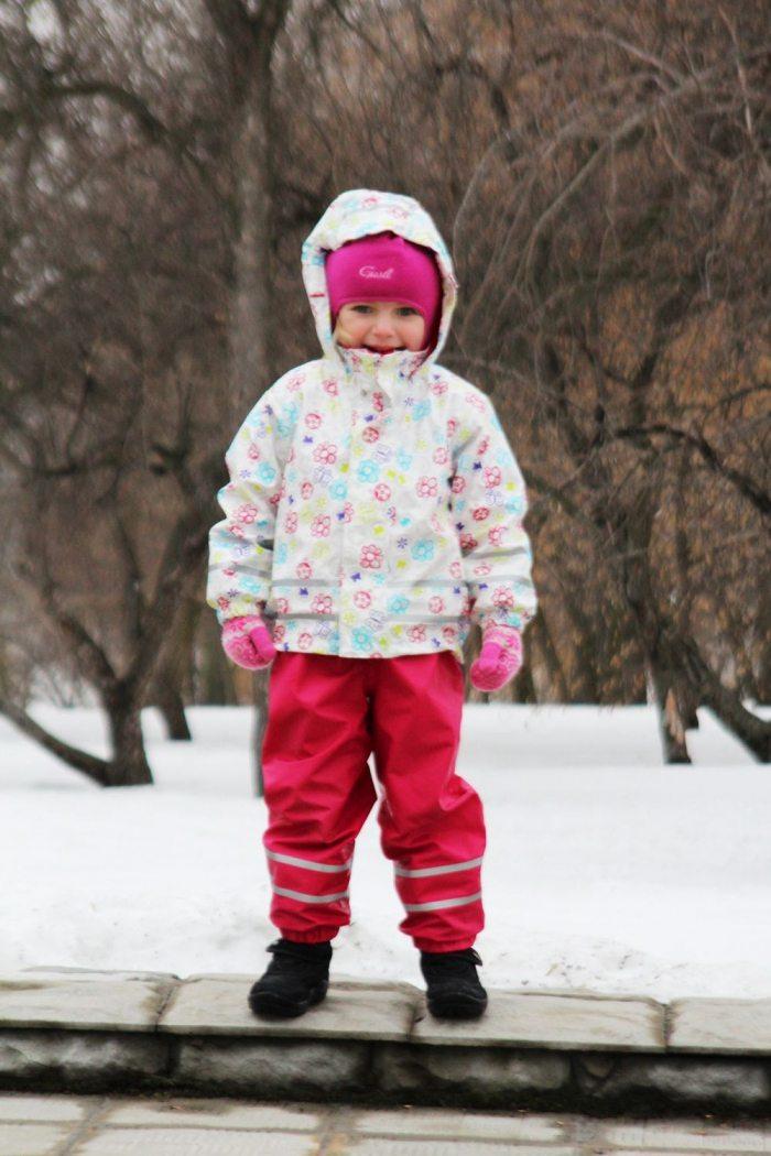 Преимущества мембранной одежды для детей