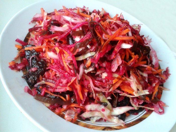 Рецепты салата «Метелка»