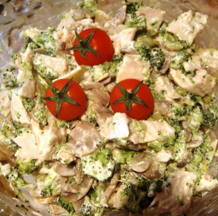 Вкусный, сытный и оригинальный салат «Английский»