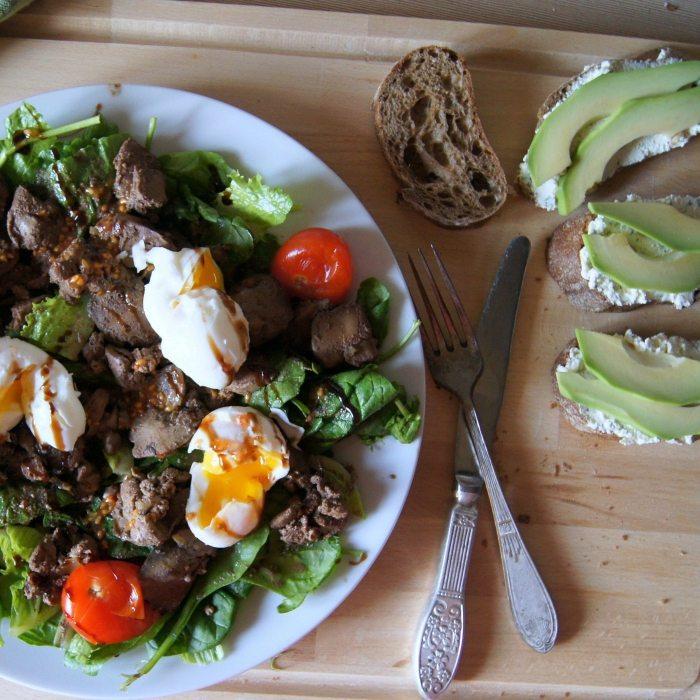 Легкое угощение на праздничный стол – салат «Козел в огороде»