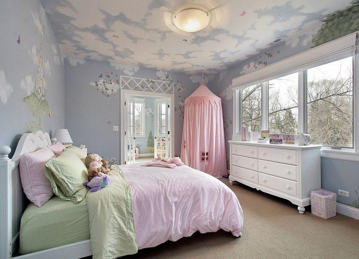Спальня для девочки: особенности создания интерьера