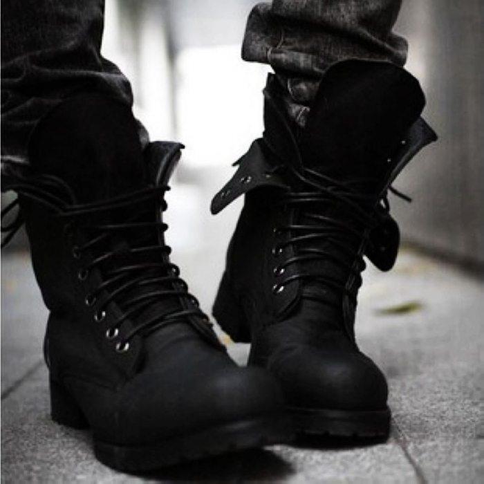 Женские ботинки на шнуровке: правила правильного выбора