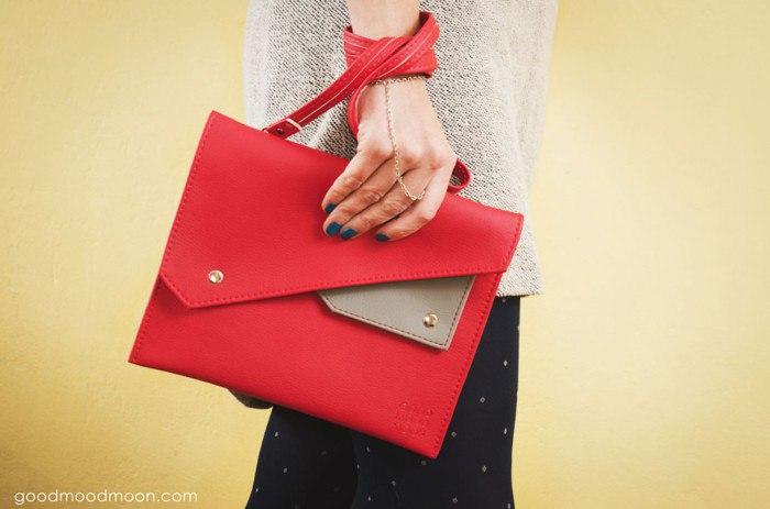 Красная сумка? А почему бы и нет!