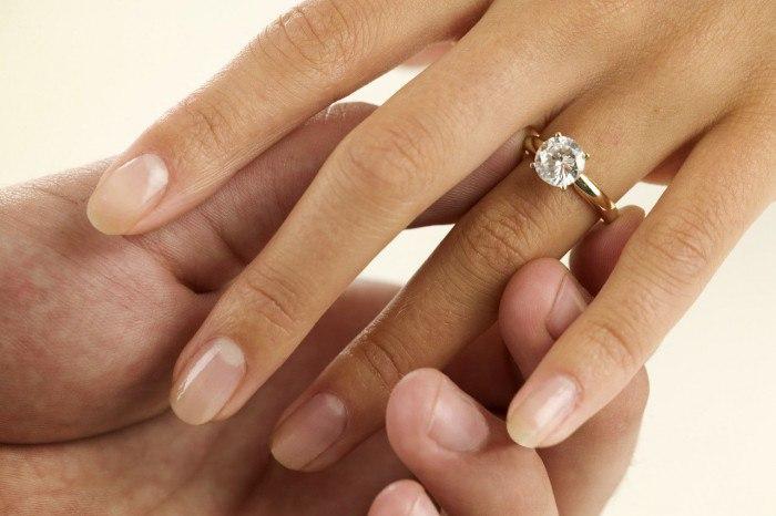 Значение кольца на среднем пальце у девушки
