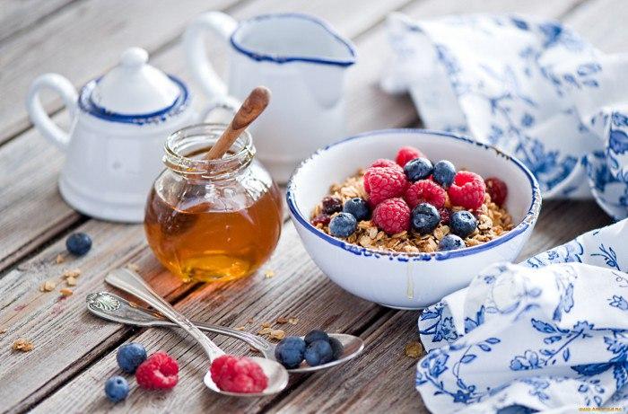 Самый полезный завтрак: перечень продуктов