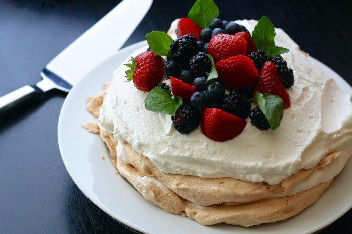 Десерт «Павлова»: история происхождения и подробный рецепт