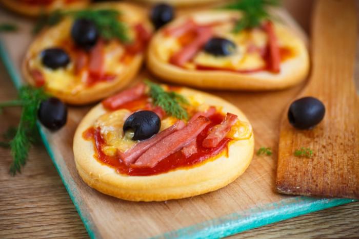 Как сделать мини-пиццу: лучшие рецепты
