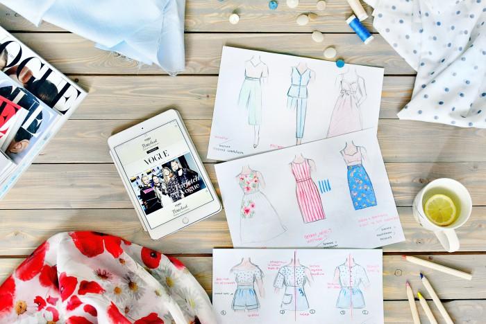 Как определить, сколько ткани нужно на платье?