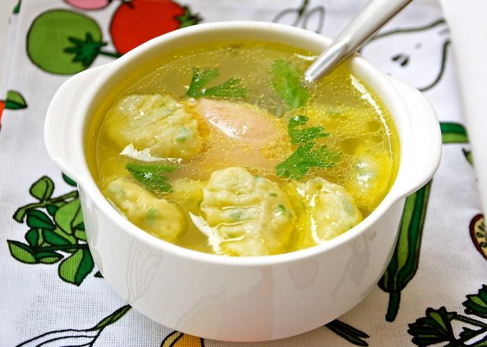 Постный суп с клецками: лучшие рецепты
