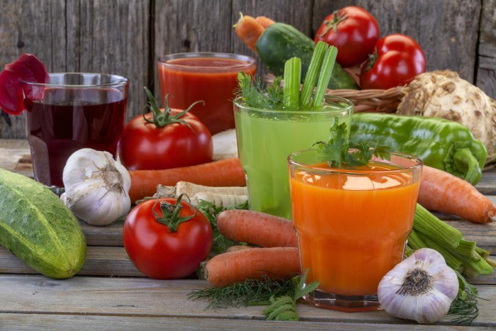 Овощные соки на зиму – вкус лета в банке