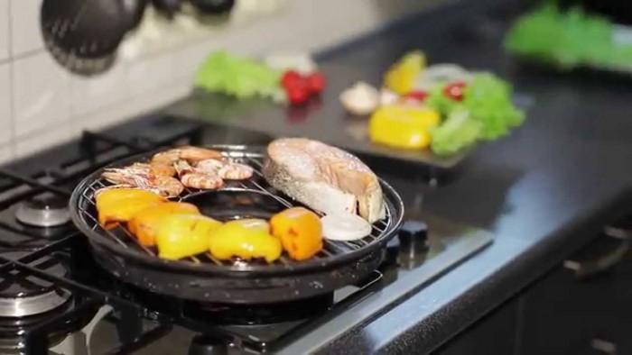 Сковородка гриль-газ – ваш главный помощник на кухне