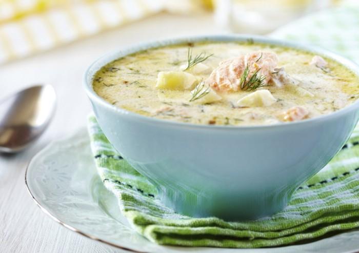 Рыбный суп со сливками – лучшие скандинавские рецепты