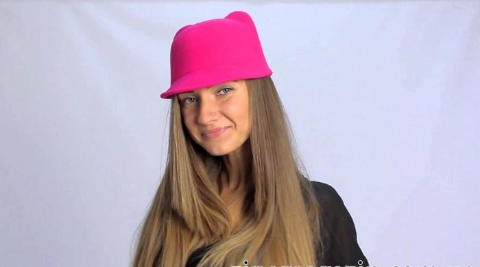 Шляпка с ушками крючком: вяжем модный аксессуар своими руками