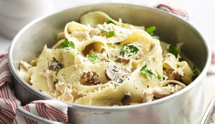 Лапша с грибами: рецепт вкусного блюда на каждый день