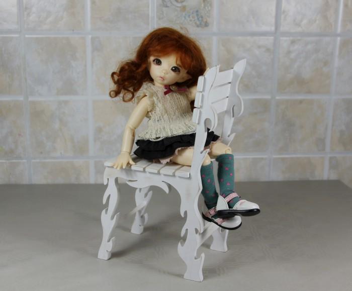 Маленькая радость: как сделать стул для кукол?