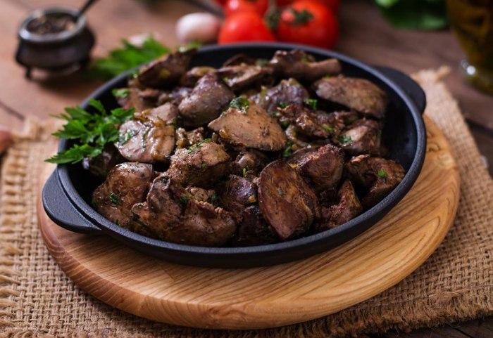 Куриная печень: диетические рецепты на любой вкус