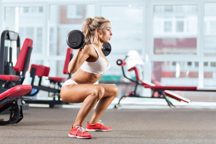 Как выполнять приседания, чтобы похудеть