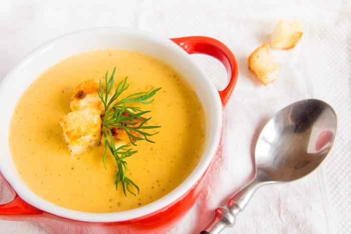 Диетические супы-пюре: рецепты приготовления
