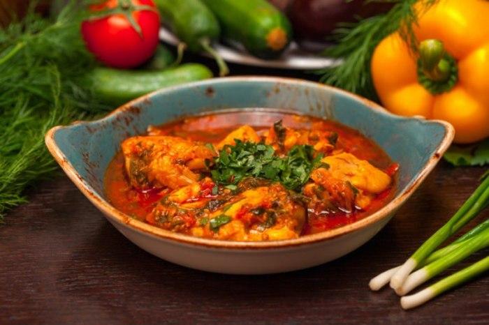 Как приготовить чахохбили из курицы: классический рецепт